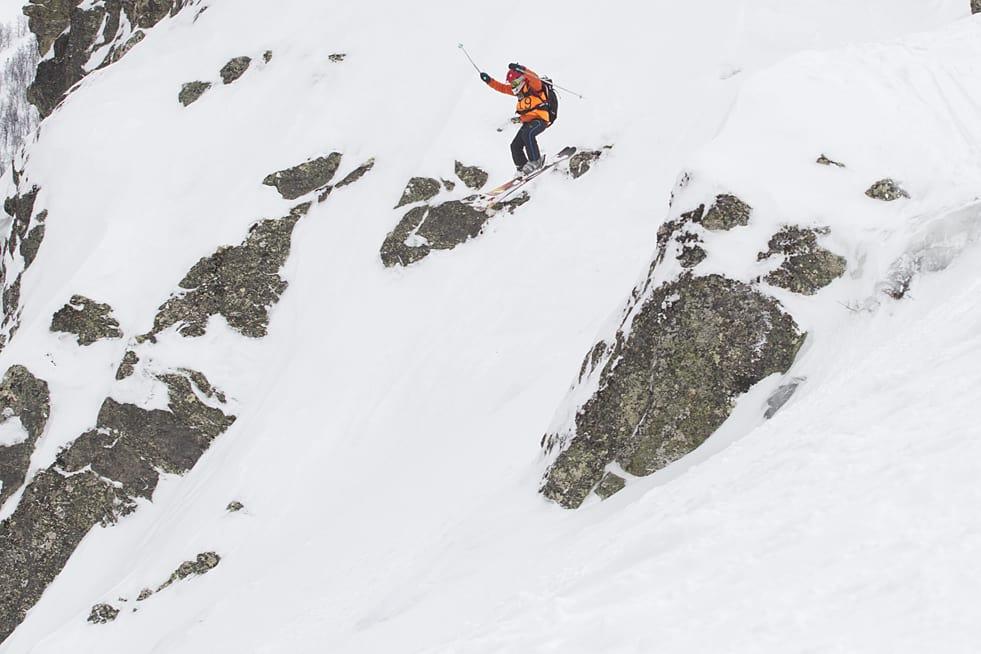 KLART FOR KIDS: Fire konkurranser er spikra for juniornorgescupen i frikjøring, som starter i Hemsedal 6. mars. Bildet er fra fjorårets konkurranse i Mortenskaret. Foto: Kalle Hägglund