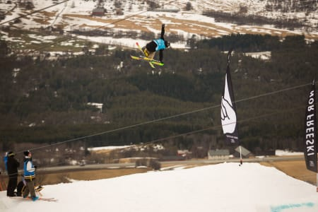 ÅL IN PÅ JUNIORLAGET: Robert André Ruud fra Ål gjorde det skarpt sist vinter, og er klar for juniorlandslaget i freeski. Foto: Tore Meirik