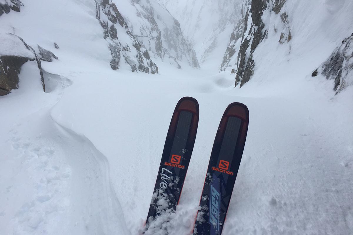 Kaj Zackrisson i Narvik - kjører denne heftige renna