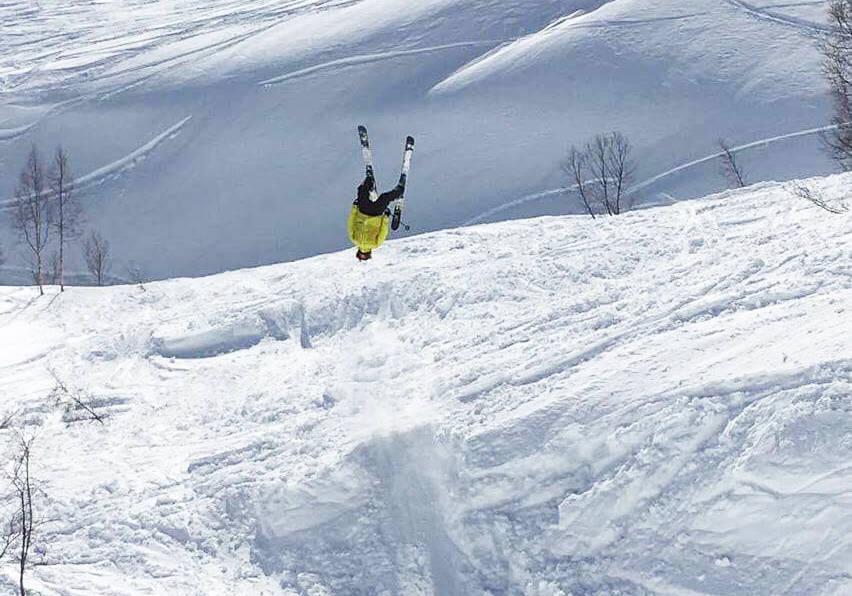 ERFAREN: Trygg Lindkjølen vet hva han skriver om når temaet er salto – som er forbudt i frikjøringskonkurranser for juniorer denne sesongen. Foto: Privat