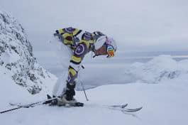 STORT: Karina er tilbake på ski, og det er fire år siden sist. Foto: Johan Wildhagen