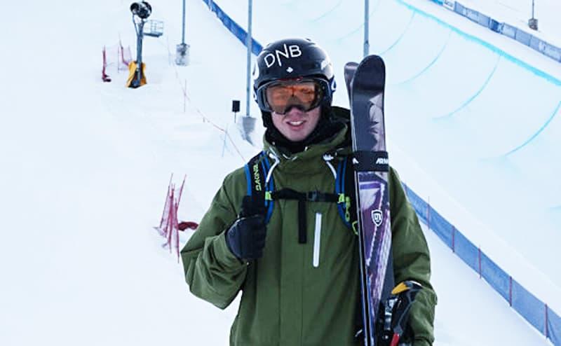 KARRIEREBESTE: Jon Anders Lindstad ble nummer seks i verdenscuprunden i halfpipe i den gamle kanadiske OL-byen Calgary i går.