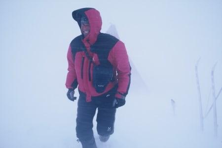KOMMER TIL Å SØKE: Heliskiguide på den andre siden av grensa, Anders Bergwall, er klar for å søke om tillatelse til å fly gjester i fjella rundt Narvik. Foto: Arctic Guides