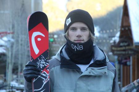 DEBUTANT: 17 år gamle Martin Kvatningen har sjansen til et aldri så lite gjennombrudd når han debuterer i verdenscupen i slopestyle i helga. Foto: Christopher Frankum