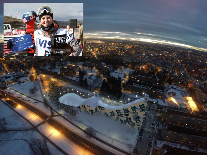 KLAR FOR BIG AIR: Tiril Sjåstad Christiansen er klar for X Games i Oslo.