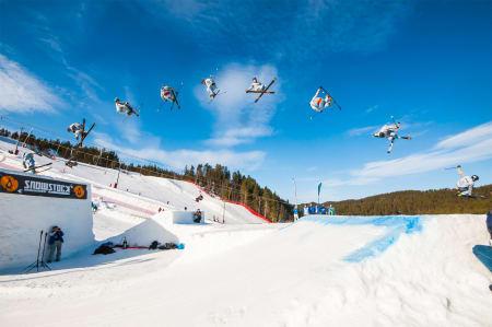 I FJOR: Det sto ikke på fete dobbelcorks under Snowstock i fjor. Foto: Tor Magnus Anfinsen.