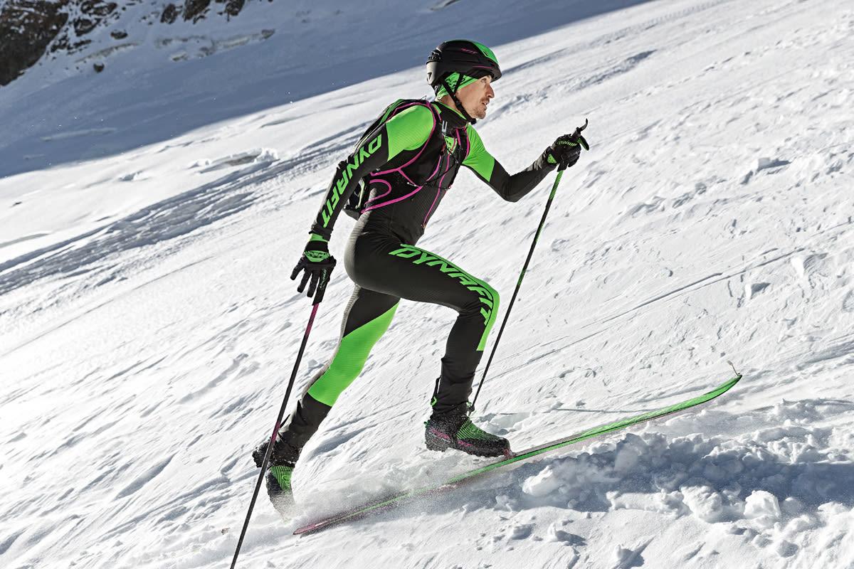 VERDENSREKORDHOLDER: Ingen har noensinne gått så mange høydemeter på ski på ett døgn som Lars Erik Skjervheim. I helga satte både han og Malene Blikken Haukøy verdensrekord!