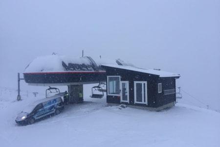 SNØEN KOMMER?: Røldal Skisenter har allerede fått noe snø i november, men håper på mye, mye mer. Foto: Røldal Skisenter