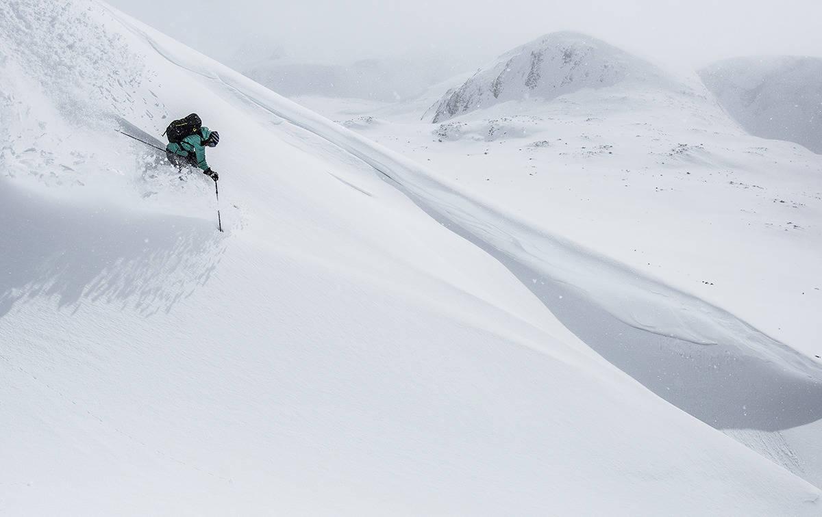 POPULÆRT: Høgruta i Jotunheimen er et av stedene det er populært med guida toppturer i Norge. Foto: Christian Nerdrum