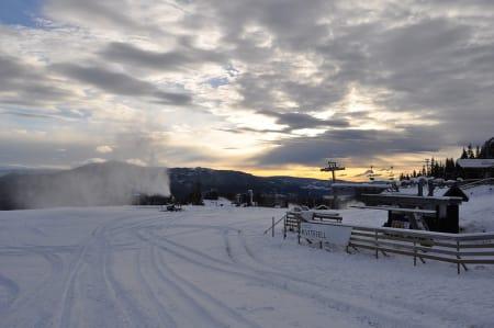 ÅPNER: Torsdag neste uke åpner Kvitfjell. Foto: Kvitfjell