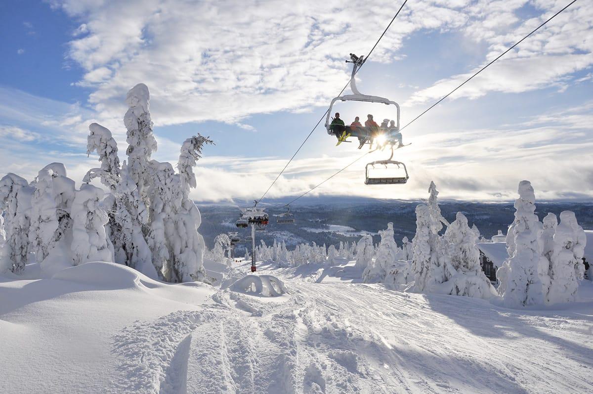 NY STOLHEIS: Kvitfjell får sin tredje fjellside - med ny stolheis og nedfarter. Foto: Alpinco