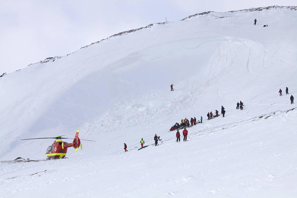 ARKIV: Her fra en redningsaksjon. Foto: Tore Meirik