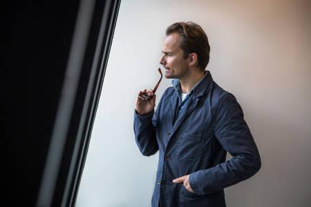 KOM HJEM: Fredrik Luytkis vil ha OL hjem til Norge og mener Oslo er ski-idrettens «hellige gral». Bilde: Christian Nerdrum