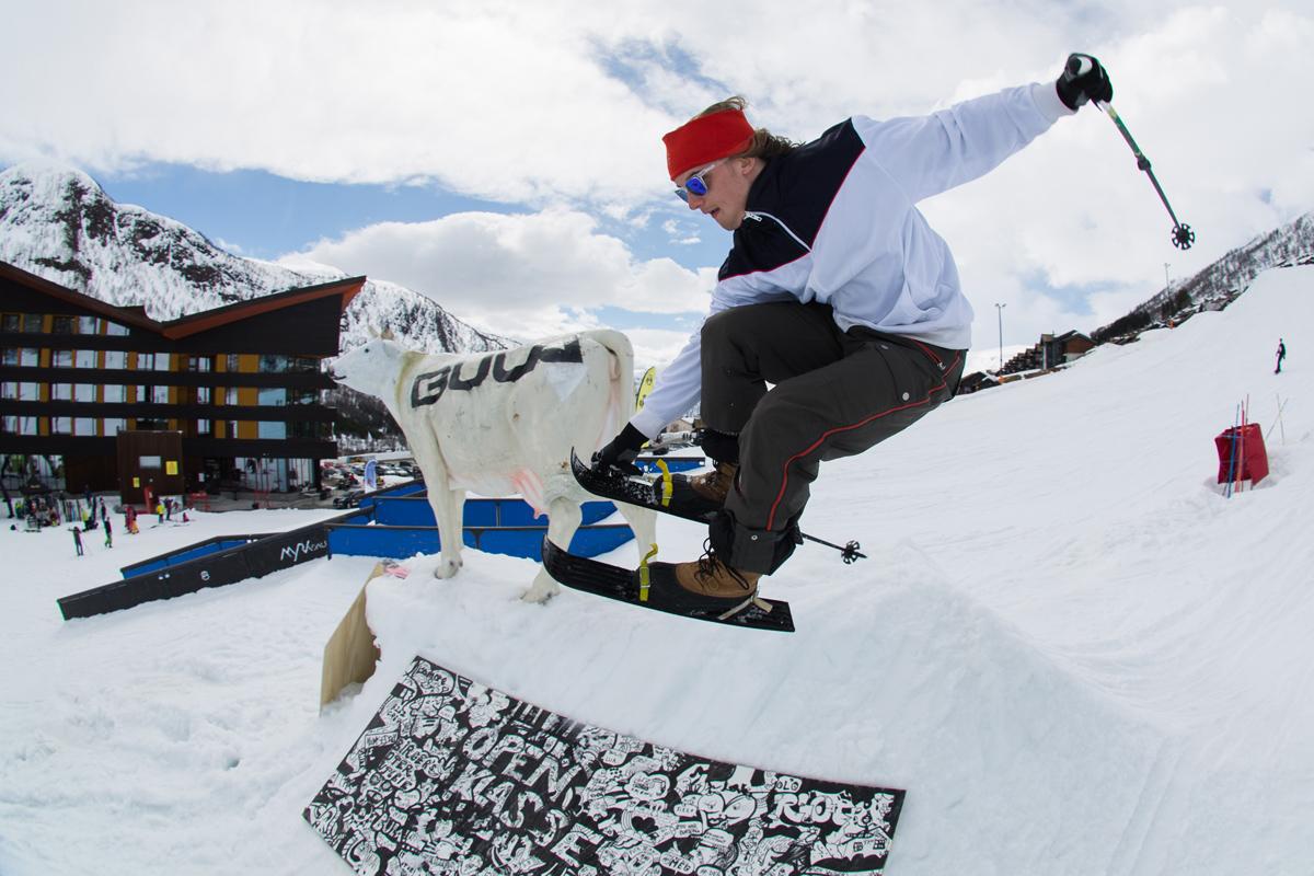 Landslagskjørere ofre for skityveri