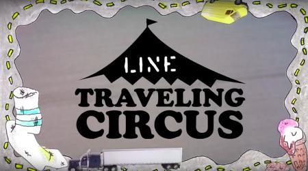 SIRKUSET: Line Traveling Circus er ute på den tiende runden. Foto: skjermdump