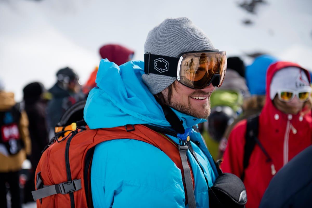KLAR FOR FWT: Dennis Risvoll starter Freeride World Tour i Andorra fredag 22. januar. Foto: Martin I. Dalen