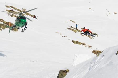 VANT I ALASKA: Logan Pehota –sønnen til frikjøringslegenden Eric Pehota- vant årets nest siste FWT-runde i Alaska. Her er Pehota junior i aksjon under Skier´s Cup i Andorra tidligere i år. Arkivfoto: Tore Meirik