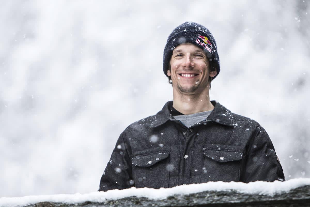 GIR SEG: Italienske Markus Eder gir seg på topp, og har takket nei til FWT. Foto: Red Bull