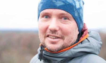 Markus Landrø er fagekspert i snø og skred i NVE. Foto: Gunhild Aaslie Soldal