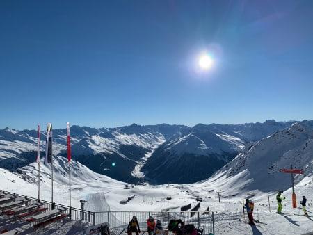 Med jernhesten til Davos