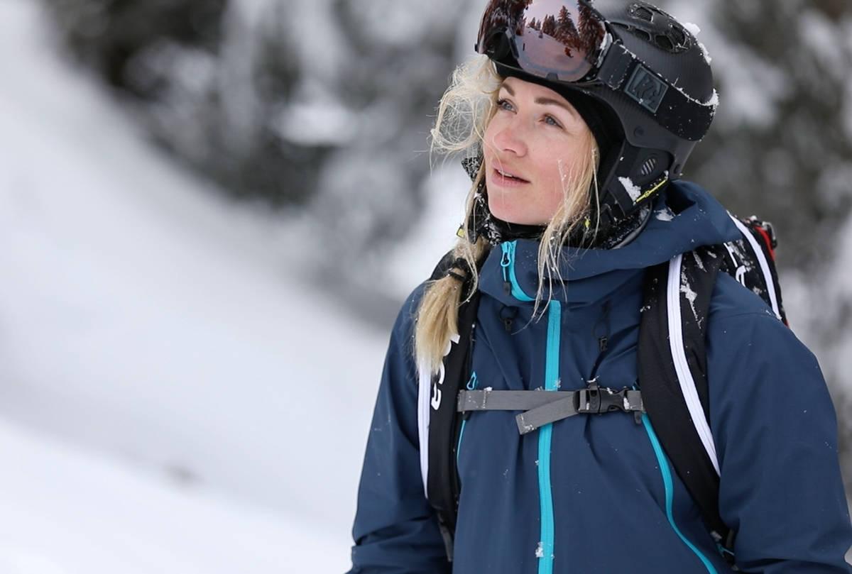 TOPPTUR PÅ VATNAHALSEN: Linn Cecilie Mæhlum og resten av Ivrig arrangerer camp på Vatnahalsen. Foto: Ivrig