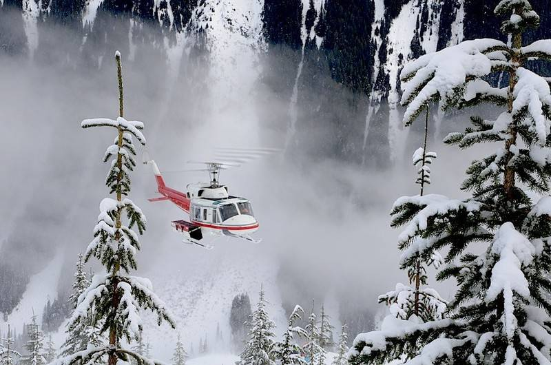 OMSTRIDT: Fjellguider i Sogndal er slett ikke begeistra for Fjord helikopters søknad om å starte heliskiing i Sogn og Fjordane. Arkivfoto: Erlend Sande