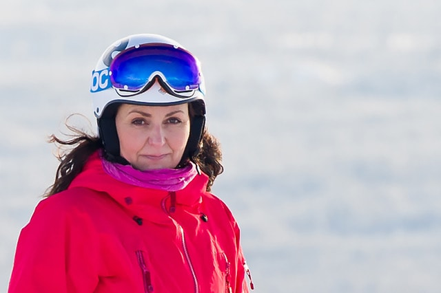 LEIAREN: Camilla Sylling Clausen frå Alpinanleggenes Landsforening og Norske Fjell AS. Foto: ALF