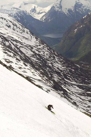 Espen Sollien, Korte baksiden, Stryn. Foto: Hans Petter Hval.