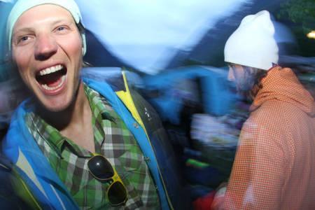 Asbjørn Eggebø Næss, Folven Camping. Foto: Hans Petter Hval.