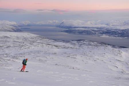 I Tromsø har det allerede vært prima forhold en stund, og til helga er det meldt påfyll av nysnø. Foto: Espen Nordahl