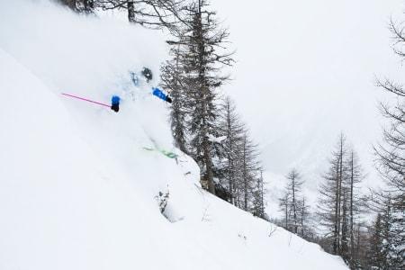 DYPE DAGER PÅ VEI: De neste tre døgnene skal det snø hele halvannen meter i Courmayeur i Italia (bildet). Foto: Tore Meirik