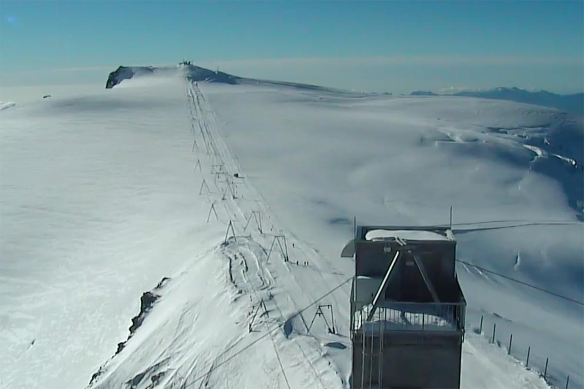 Nå er det snøfest flere steder i Alpene
