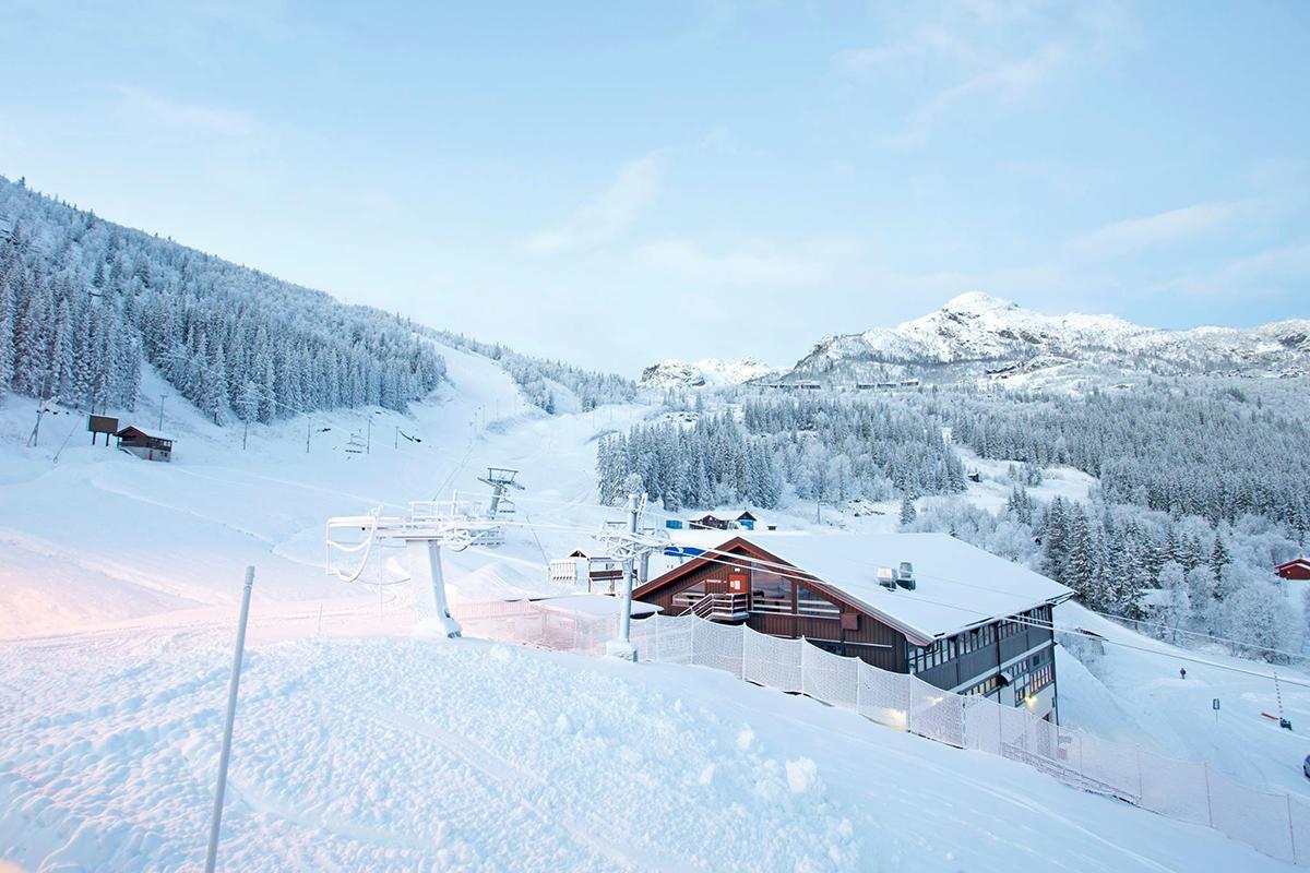 Nå er det storåpning av skianlegg