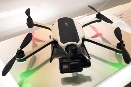 TILBAKE: Gopro-drona er nå tilbake på markedet. Foto: Wikimedia Commons