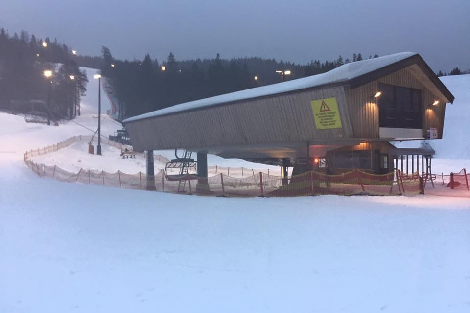 ÅPNET I GÅR: I går åpnet en trase i Wyller-området. Foto: Oslo Vinterpark