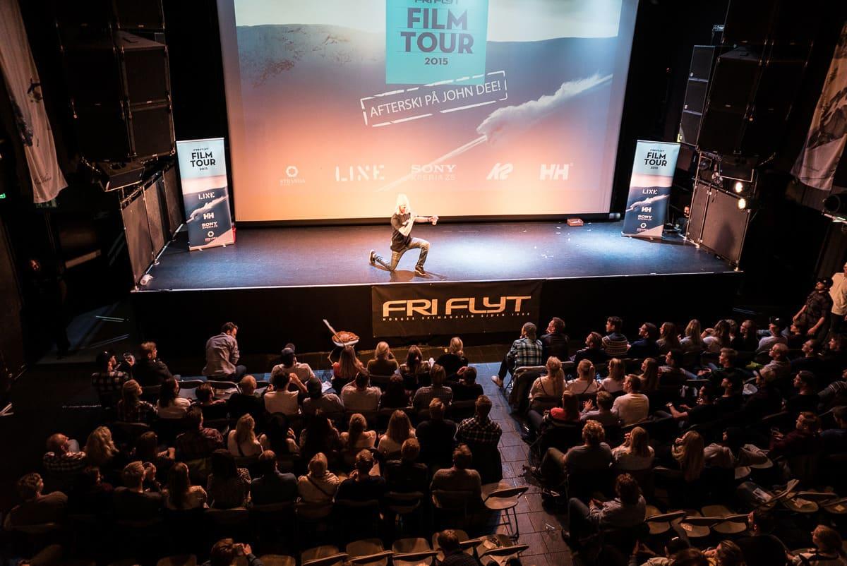 FILM TOUR: Bli en del av Film Tour - og vinn 10.000 kroner! Foto: Bård Basberg