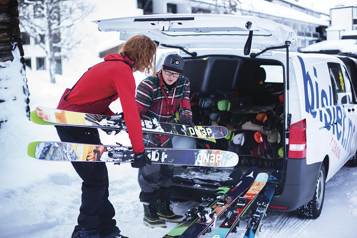 Nå kommer årets første skitester