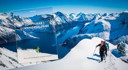 UTE: Endelig er Toppturar i Sunnmørsalpane her. Boken får du hos ffshop! Foto: Håvard Myklebust