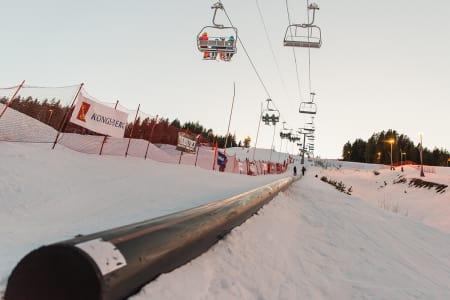 NY REKORD?: Blir det ny verdensrekord på Kongsberg i helga? Foto: Tor Marius Anfinsen