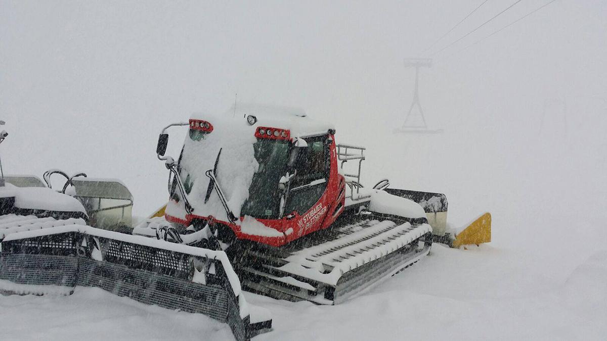 Nå snør det i Stubai
