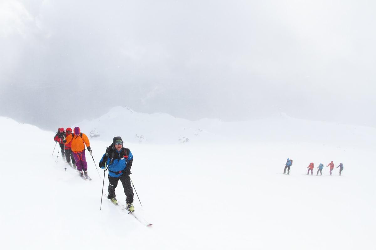 OPPTAK I FEBRUAR: Nortind er i ferd med å starte opptaket til sin nye skiveglederkvalifisering. Arkivfoto: Tore Meirik