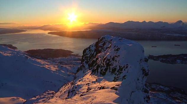 EPIC: Det var en grunn til at Chaoz Productions tok turen innom Narvikfjellet.