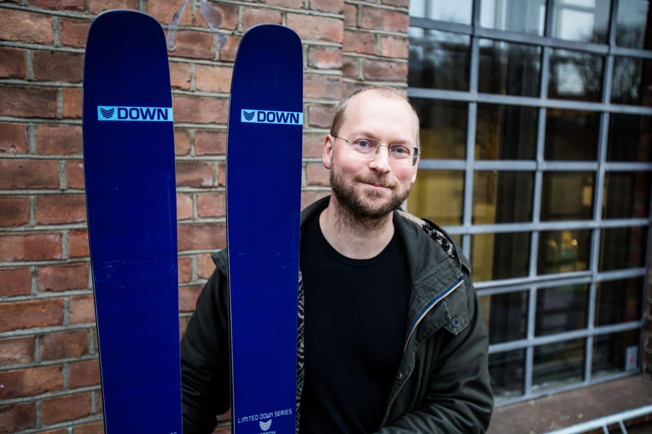 Hør hva sjefsdesigner Simen Stori har å si om Down Countdown 2 Carbon. Bilde: Christian Nerdrum