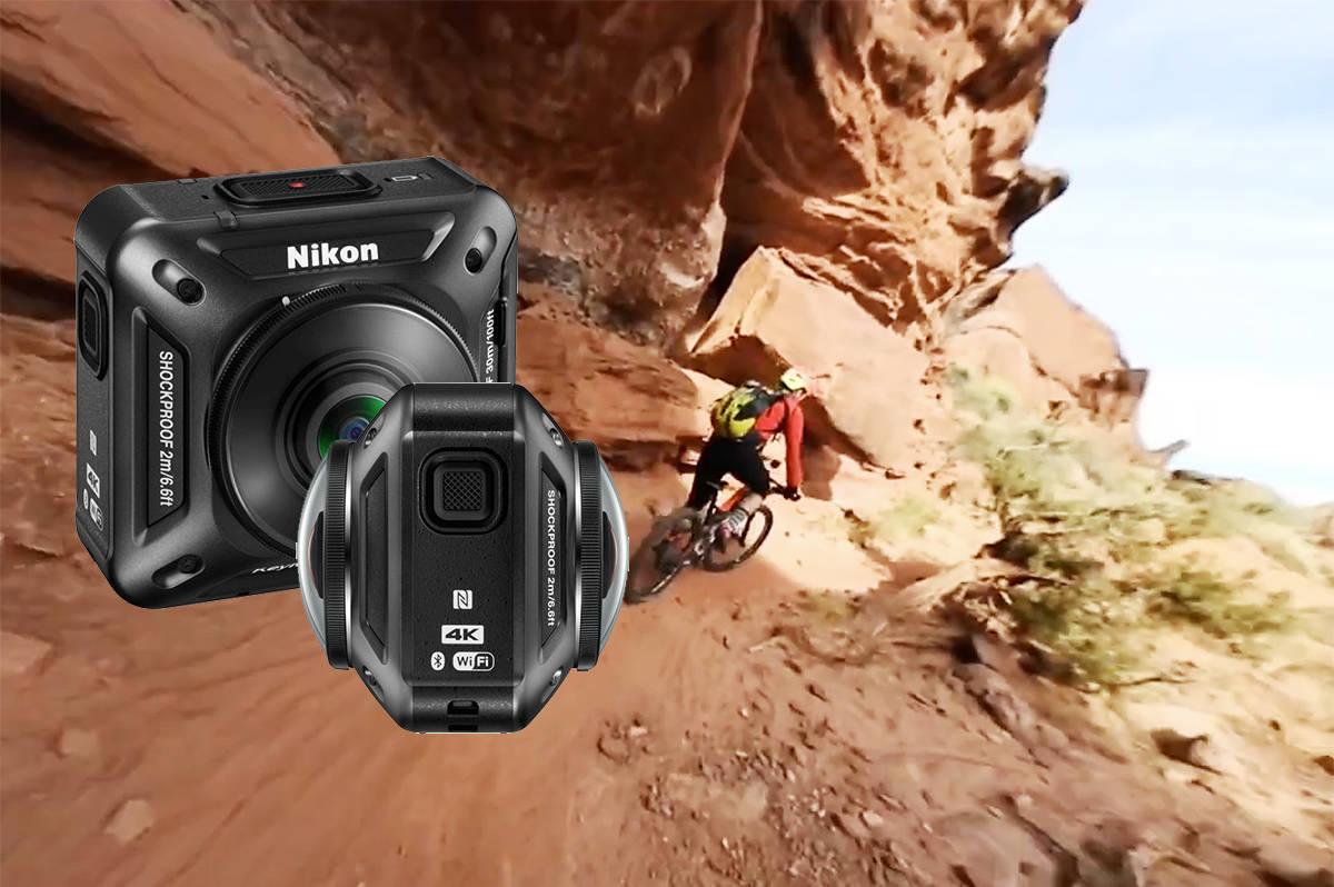 KAMERA: Slik ser det nye kameraet fra Nikon ut.