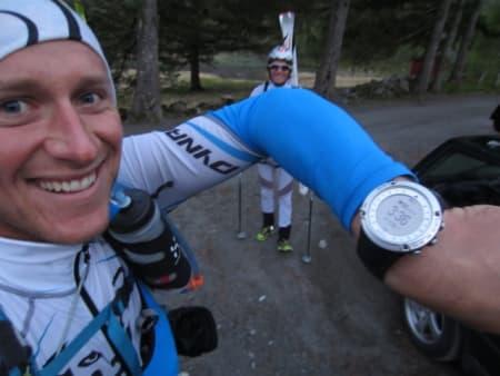 ALPIN START: Nils og Ola starta klokka 03.36