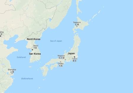Nordmann omkom i snøskred i Japan