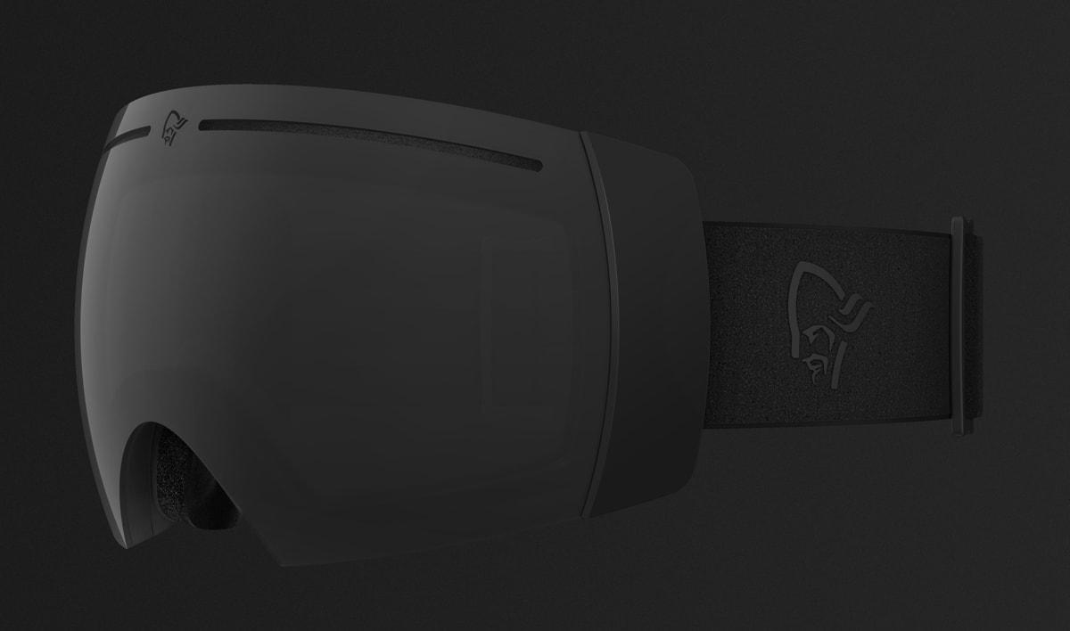 LOFOTEN GOGGLES: De nye skibrillene fra Norrøna heter det samme som de populære skiklærne fra det norske market.
