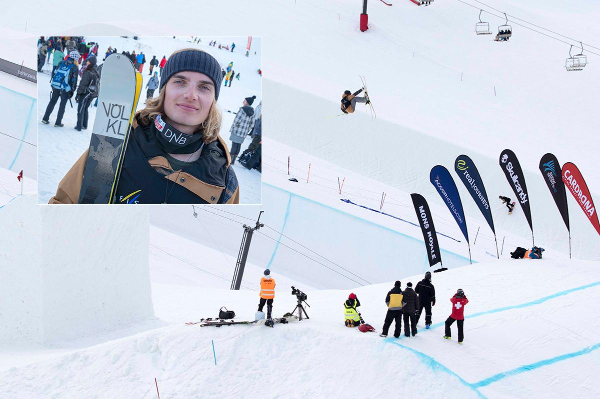 Norsk jubel i Big Air-finalen på New Zealand