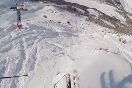 NORSK SEIER: Se filmen fra da Eirik Schjølberg fra Vågå vant trestjerners FWQ-konkurransen i Engadin i Sveits lørdag.