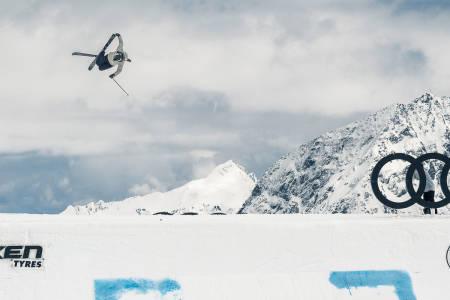 BESTE JENTE: Johanne Killi fra Dombås vant jentenes skikonkurranse under Audi Nines! Foto: Klaus Polzer